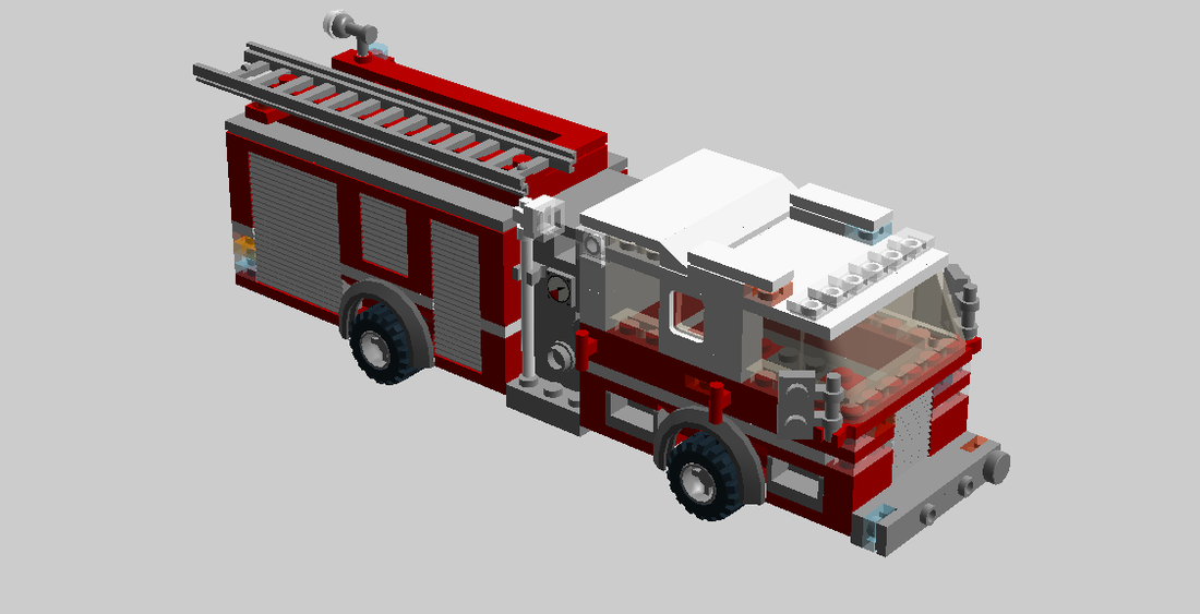 Custom Pumpers Custom Lego Pierce Fire Trucks For Sale